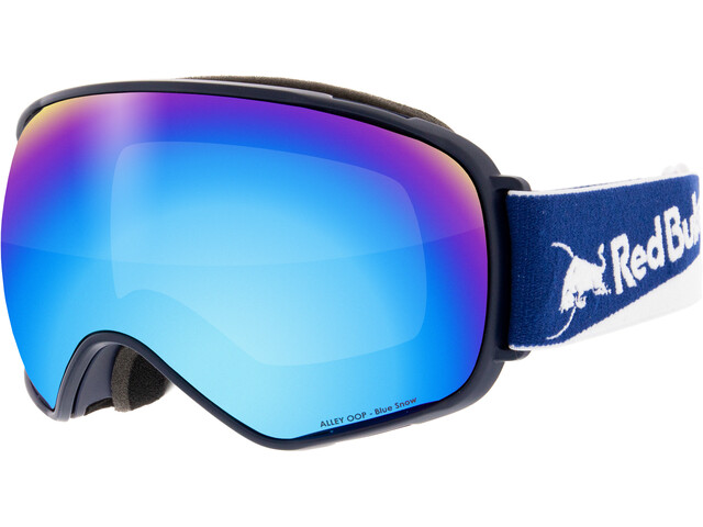 Red Bull SPECT Alley Oop Lunettes de protection, dark blue-blue snow